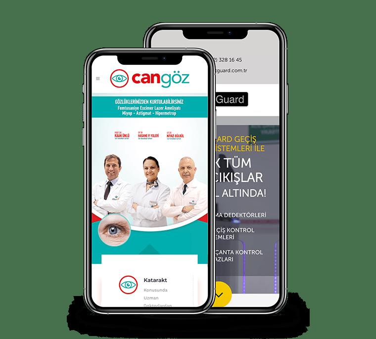 mobil web sitesi tasarımı